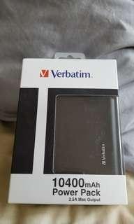 Verbatim power pack 10400mAh