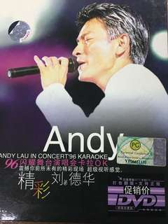 Andy Lau 1996 concert DVD