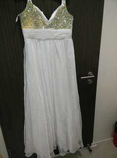 Glittering ROM gown