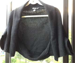 DKNY Lambswool/Cashmere Cardigan