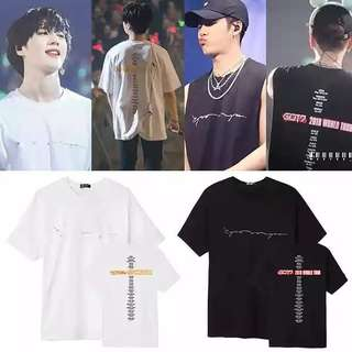 GOT7 2018 JAPAN WORLD TOUR SHIRT