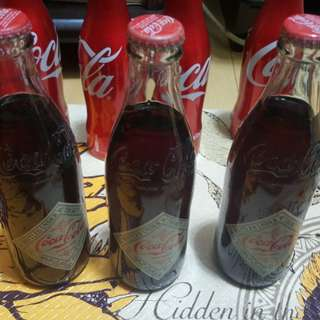 Coca cola coke bottles limited edition collectibles collection