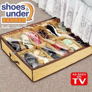 Under Bed Shoes Organizer