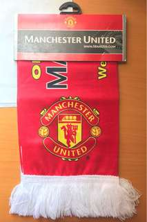 曼聯 Manchester United Marseille Friendship Scarf from UK