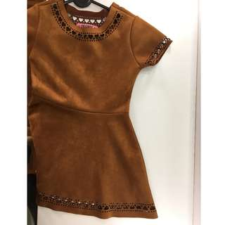 Dress (Faux Leather) : Frends