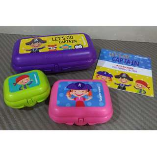 Tupperware Captain Oyster 3 in 1