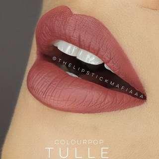 COLOURPOP • Ultra Matte Lip (Tulle)