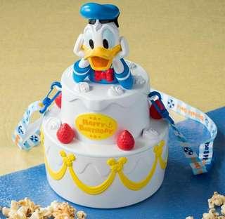 預購: 日本東京迪士尼限定唐老鴨爆谷筒