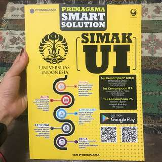 preloved Buku Primagama smart solution- simak UI