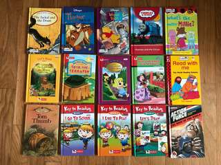 Ladybird, Robin, Thomas children books