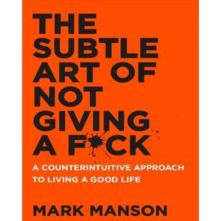 (Ebook)  The subtle art of not giving a fuck