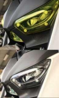 Yamaha Xmax headlight protector
