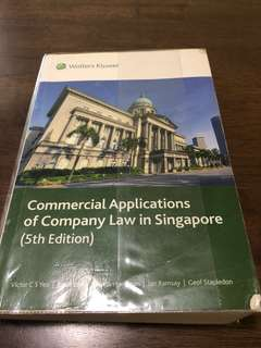AC2302 Company Law - latest textbook and updated power bible