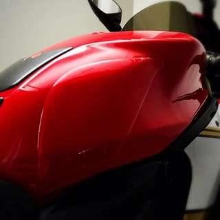 BN Transparent Motorcycle Tank Grip