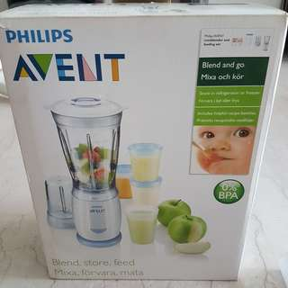 Philips Avent MiniBlender and Feeding Set