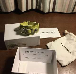 Balenciaga Leather Cuff