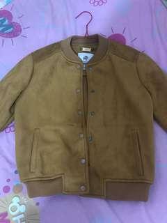 Jacket Coklat/Mustard baru sekali pakai