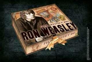 RONALD WEASLEY ARTIFACTS BOX