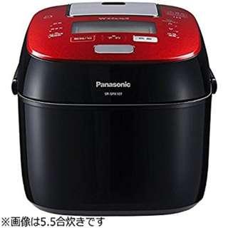 Panasonic 樂聲 SR-SPX183 パナソニック 1升 炊飯器 圧力IH式 Wおどり炊き ルージュブラック SR-SPX187-RK