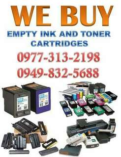 WE BUY EMPTY INK AND TONER CARTRIDGES