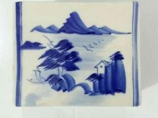 民國時期手繪典雅瓷枕