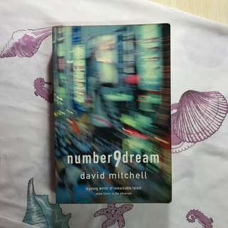 number 9 dream by david mitchell novel inggris buku
