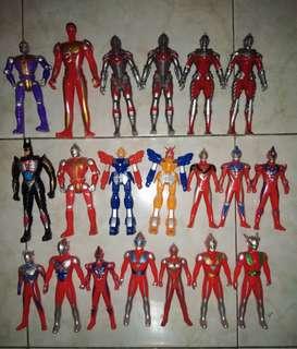 Robot-robotan Ultraman, Iron Man, Transformers, Batman