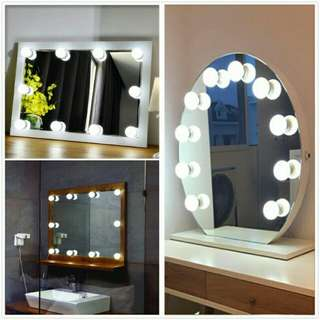 SALE!!! DIY vanity mirror 10 led light bulbs kit