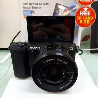 Kamera Sony Alpha 5100 Cash Back 1,5 Juta (Kredit DP 0%)