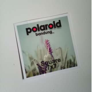 cetak polaroid square