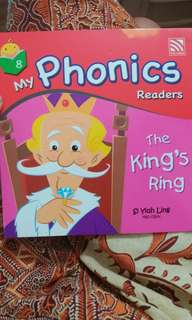 Buku cerita anak series my phonic readers