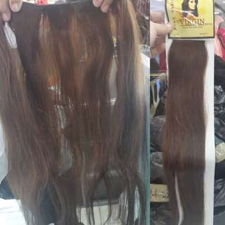 Hairclip human hair asli 100%