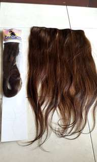 Hairclip HUMAN HAIR 100%
