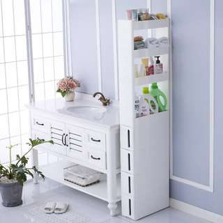 Kitchen Shelf Refrigerator Slot Removable Storage Rack With Drawers