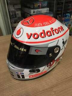 1/2 Scale Jenson Button Helmet
