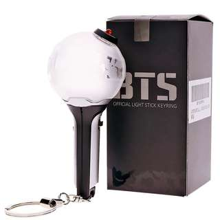 BTS UNOFFICIAL ARMY BOMB LIGHT STICK KEYRING