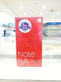 Xiaomi Note 5A Cicilan Cepat Bunga Ringan