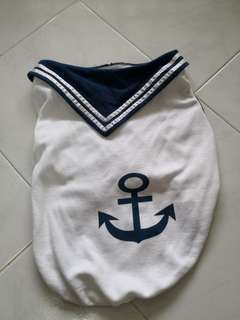 Brand new pet sailor shirt
