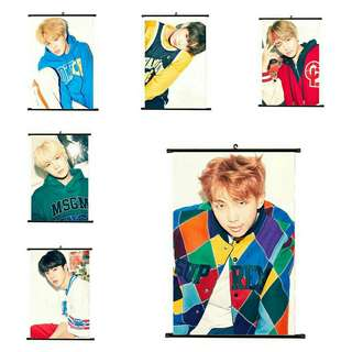 BTS Wall Scroll Poster