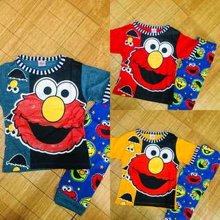Pyjamas Kids Elmo 1