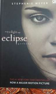 Novel the twilight saga eclipse bahasa indo