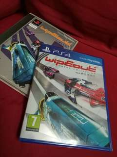 Ps4 game Wipeout Omega Collection