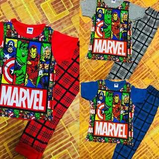 Pyjamas Kids Marvel
