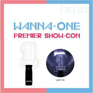 WANNA ONE PREMIER SHOW-CON LIGHTSTICK
