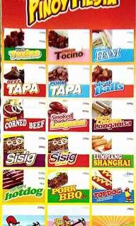 Pinoy fiesta frozen food