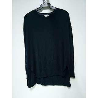 H&M - Dark Blue Long Sleeve Shirt