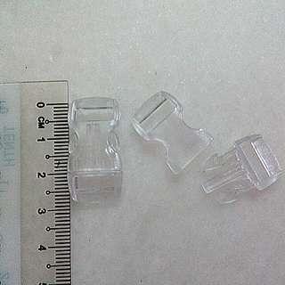 Small Bag Accessories White Transparent 2 pcs