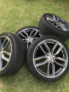 Audi S3 Rims, Air Intake and Front Brake Calipers