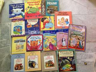 Children's Books@ RM5 each