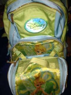 FREE SHIP! Original DISNEY WINX bag pack with attached lunch bag